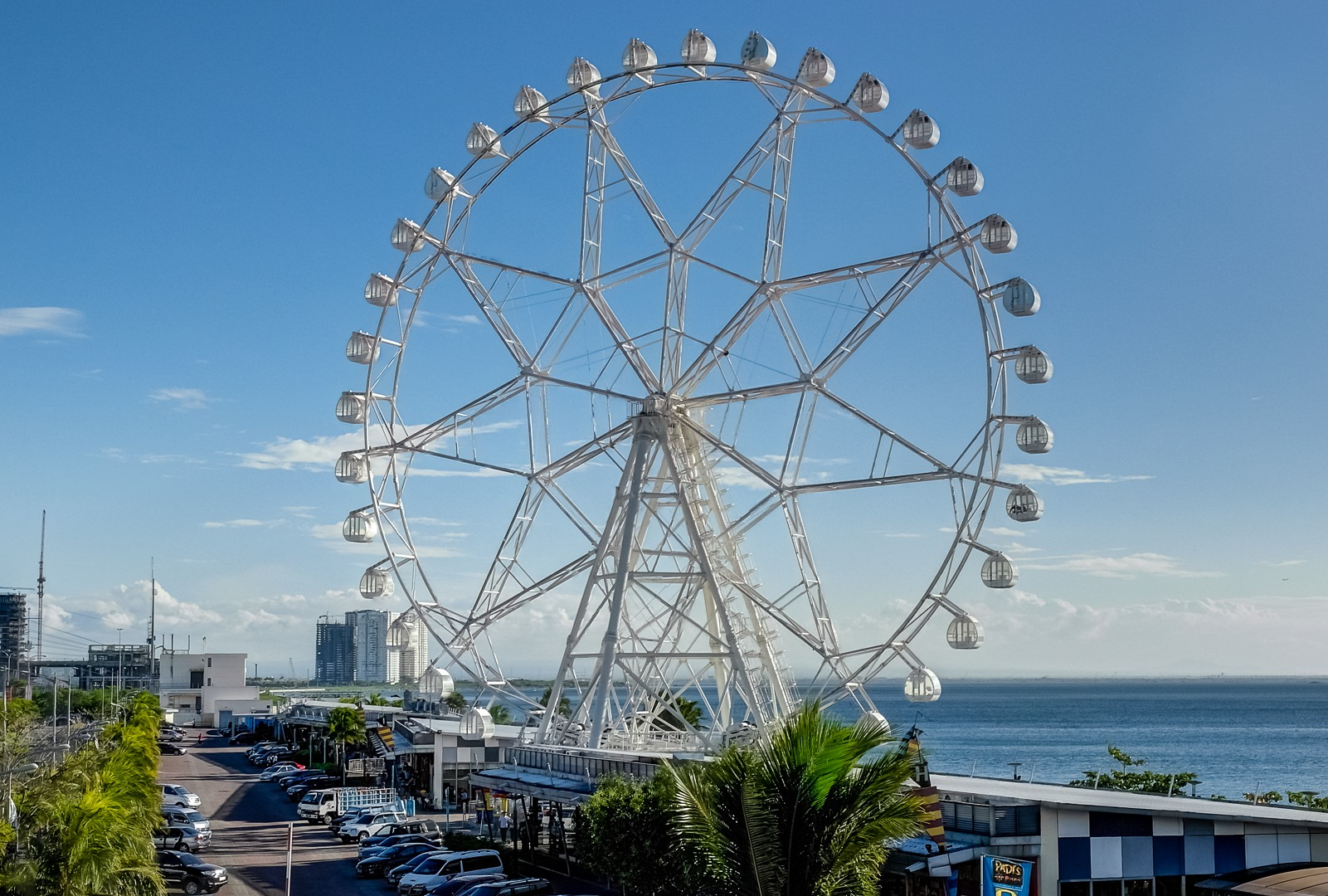 Ferris wheel next to the Mall Of Asia, Philippines