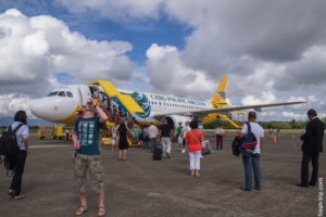 Sebu Pacific's airplane, Philippines