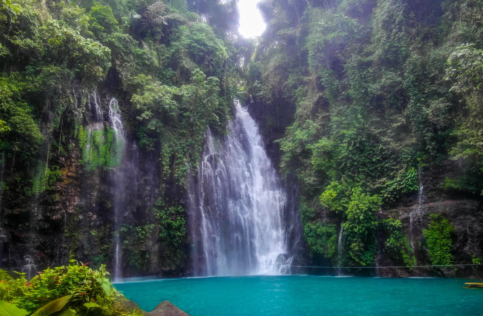 Водопад Тинаго, Филиппины