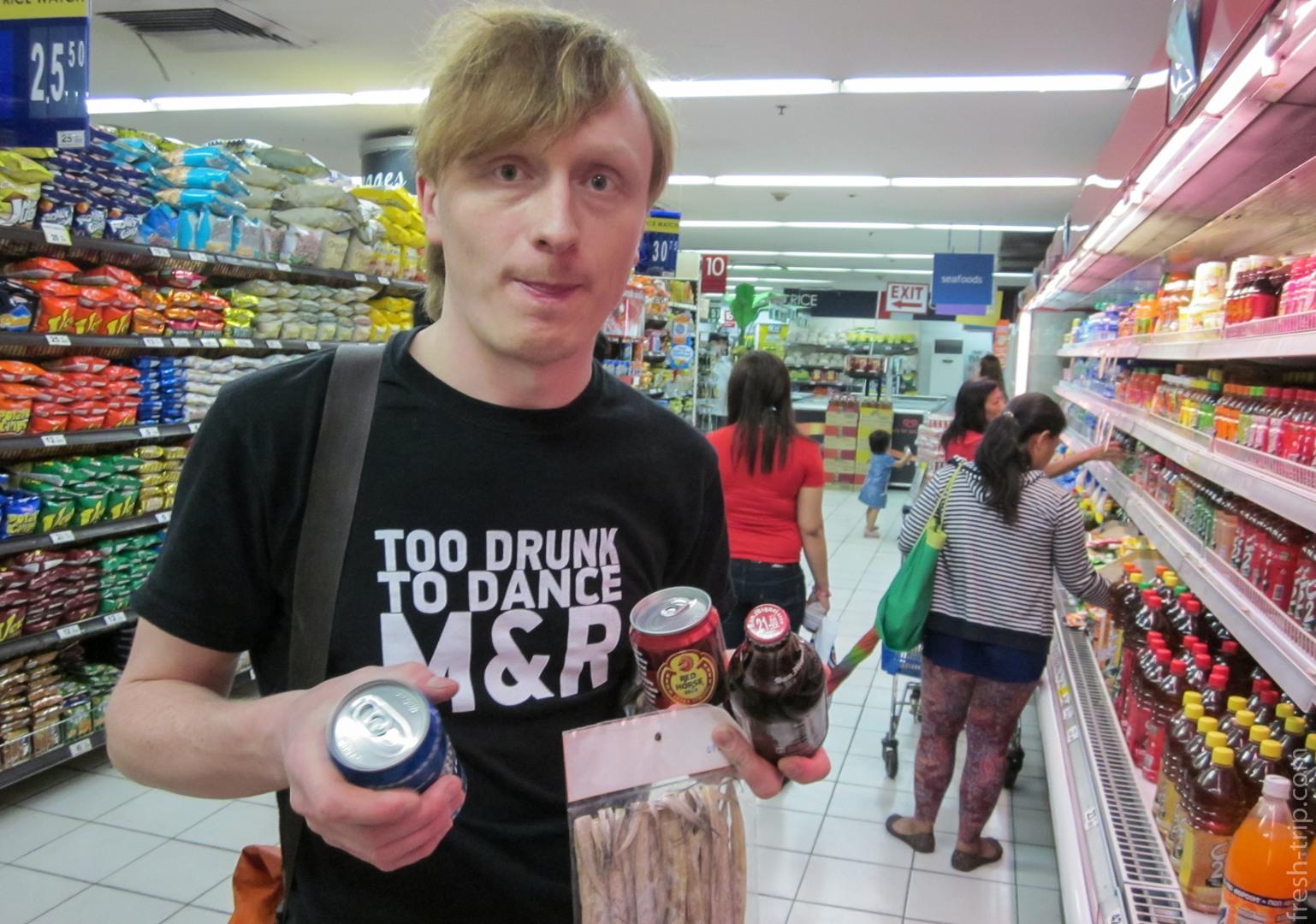 Вася в Филиппинском магазине