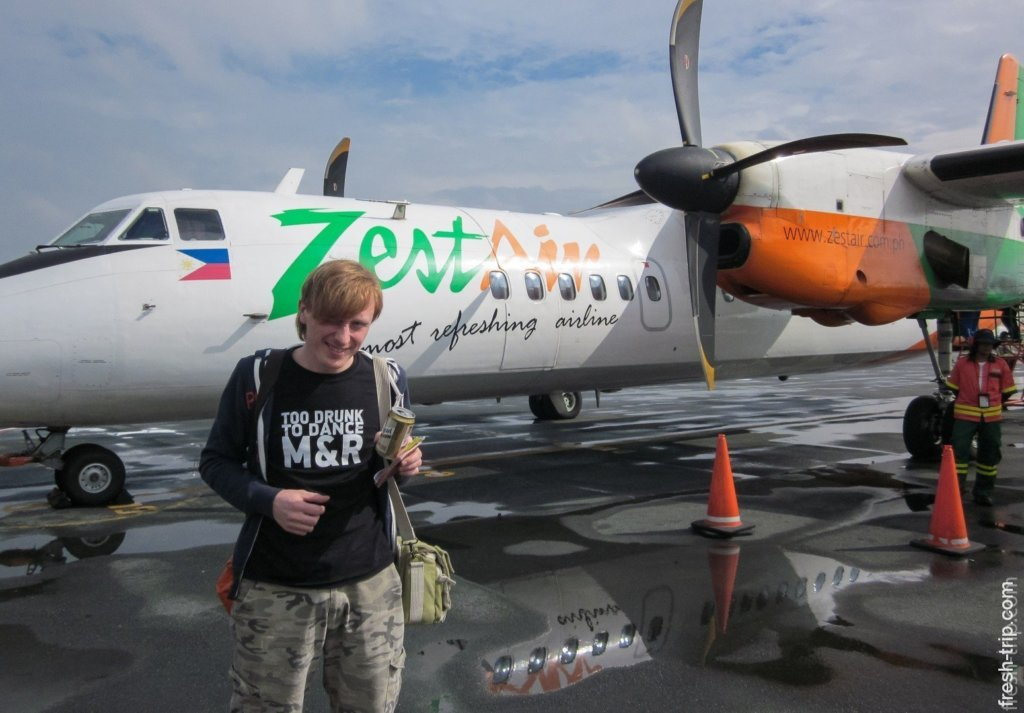 Zest Air Company's Airplane, Philippines