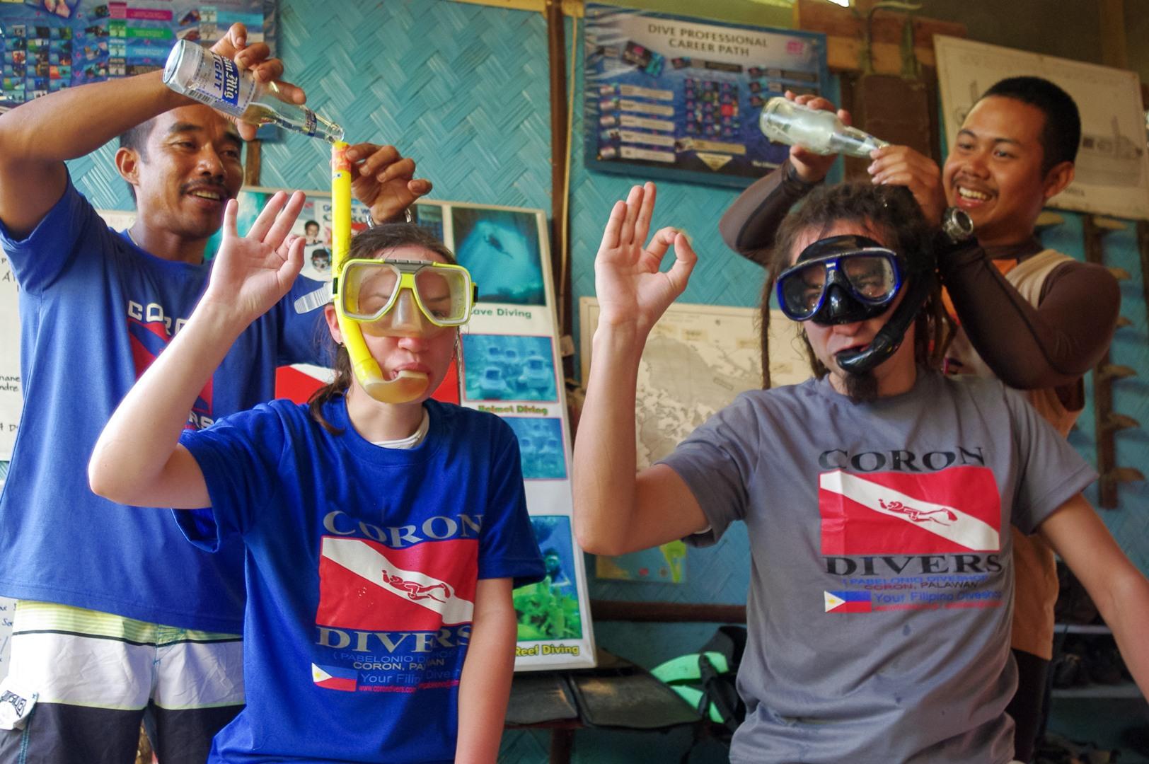 Обучение на дайвера, Филиппины