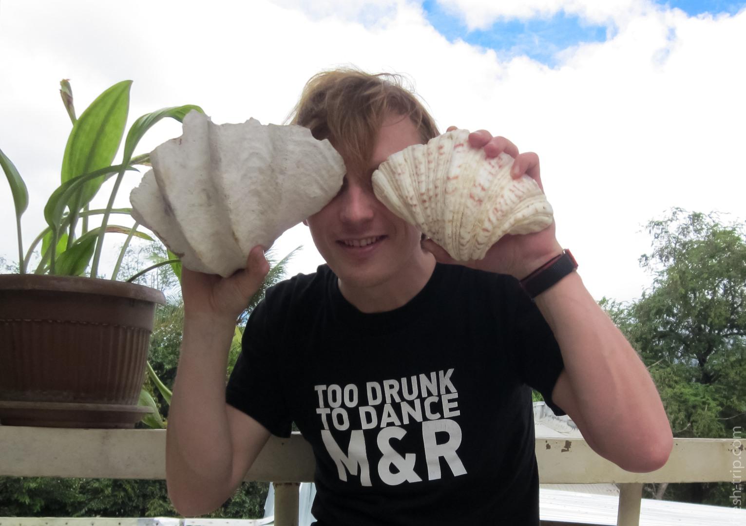 Seashells, Philippines