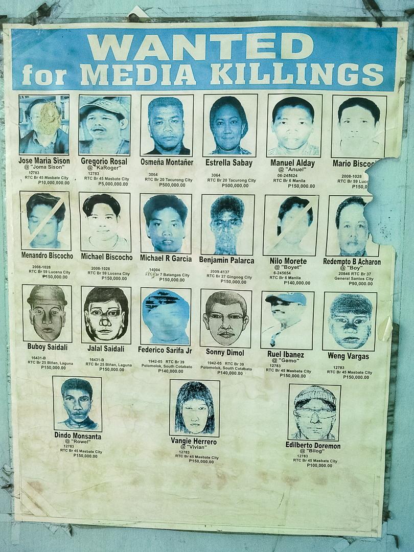 Их разыскивает милиция, Филиппины