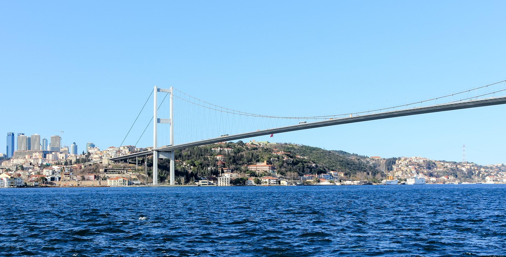 Босфорский мост, Стамбул