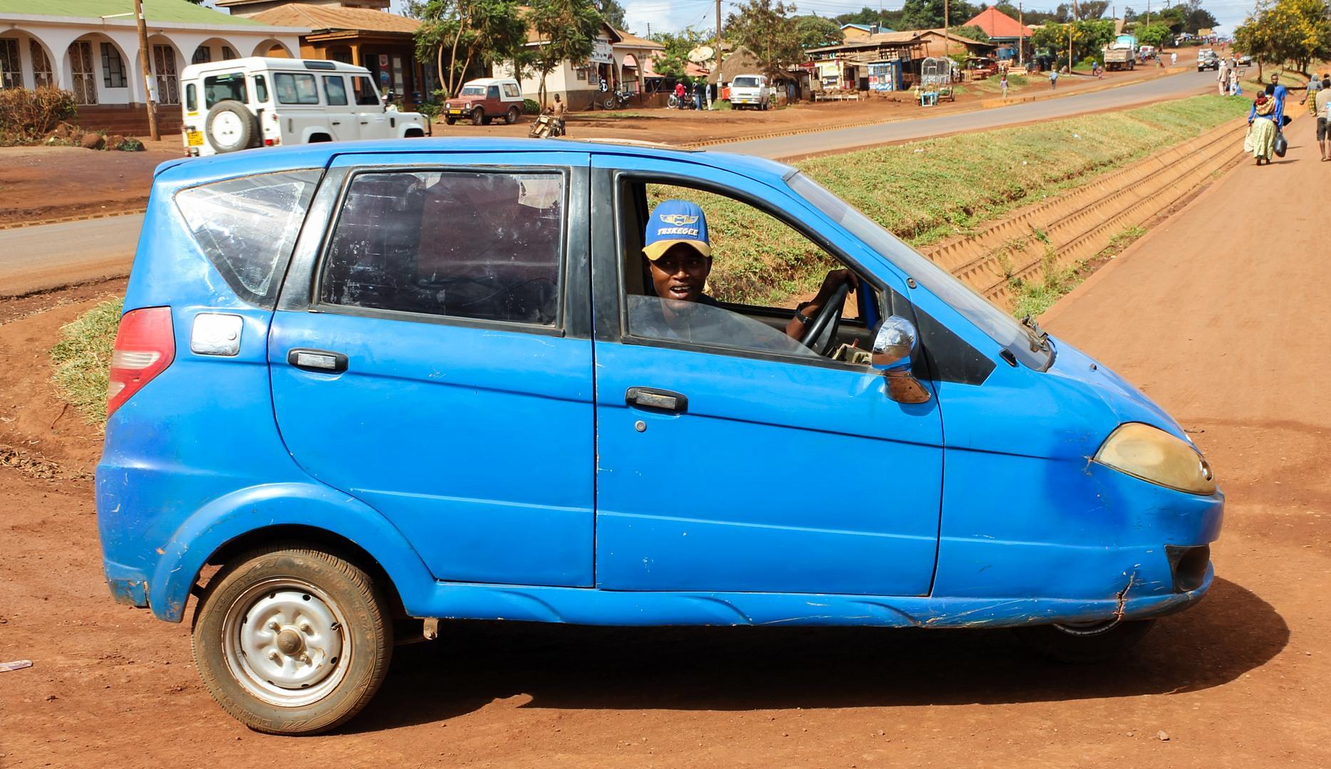 Автомобиль в Танзании