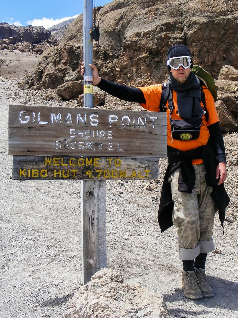 Кибо ха, 4700 метров, Килиманжаро