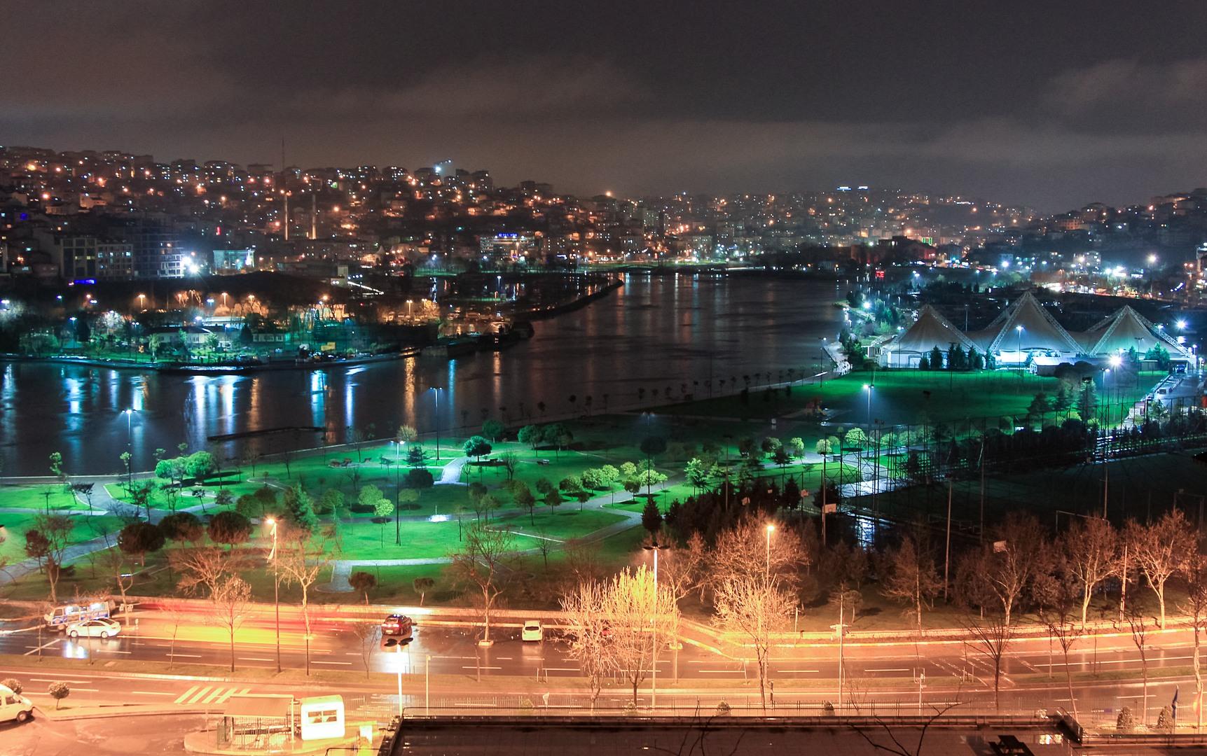 Отель Хилтон, Золотой рог, Стамбул