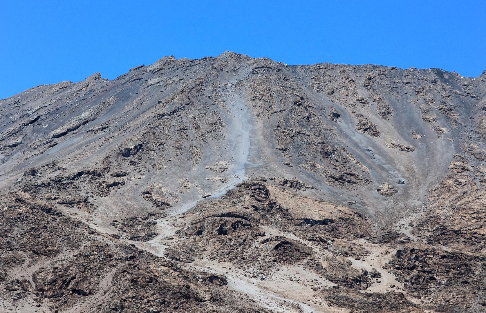 Дорога на пик Кибо, Килиманжаро