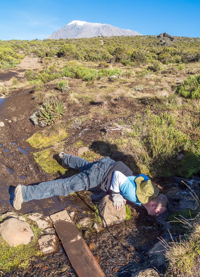 Горный ручей, Килиманджаро