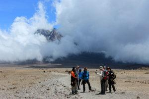 Бывалый покоритель гор, Килиманжаро