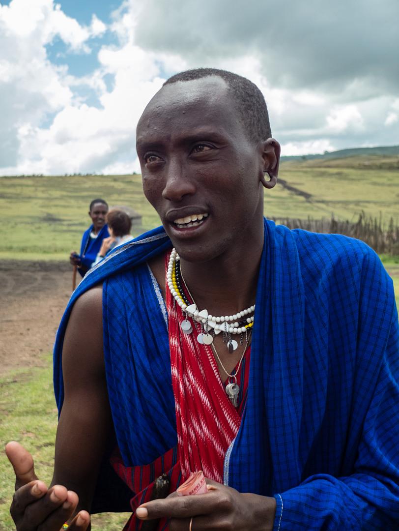 Масай тогруется, Нгоронгоро