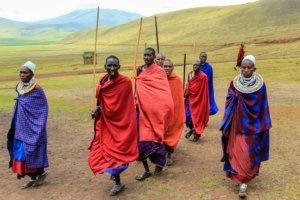 Танцы масаев, Нгоронгоро