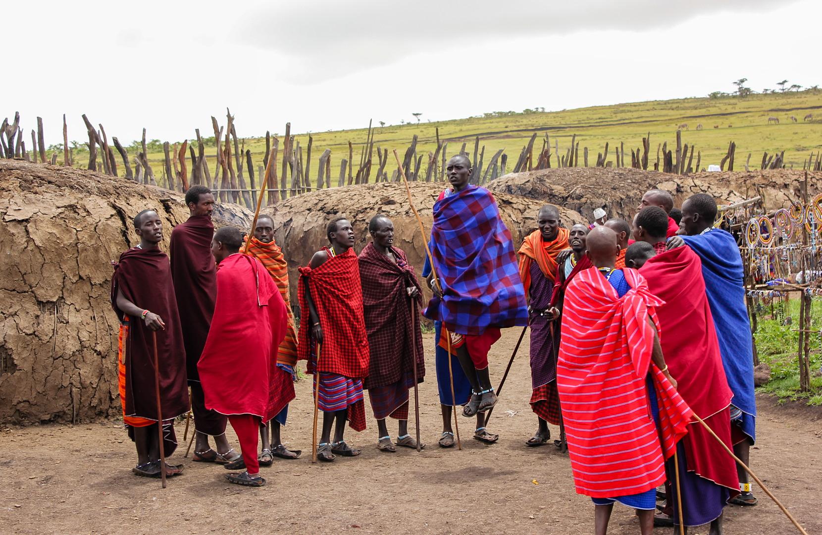 Прыжки масаев, Нгоронгоро