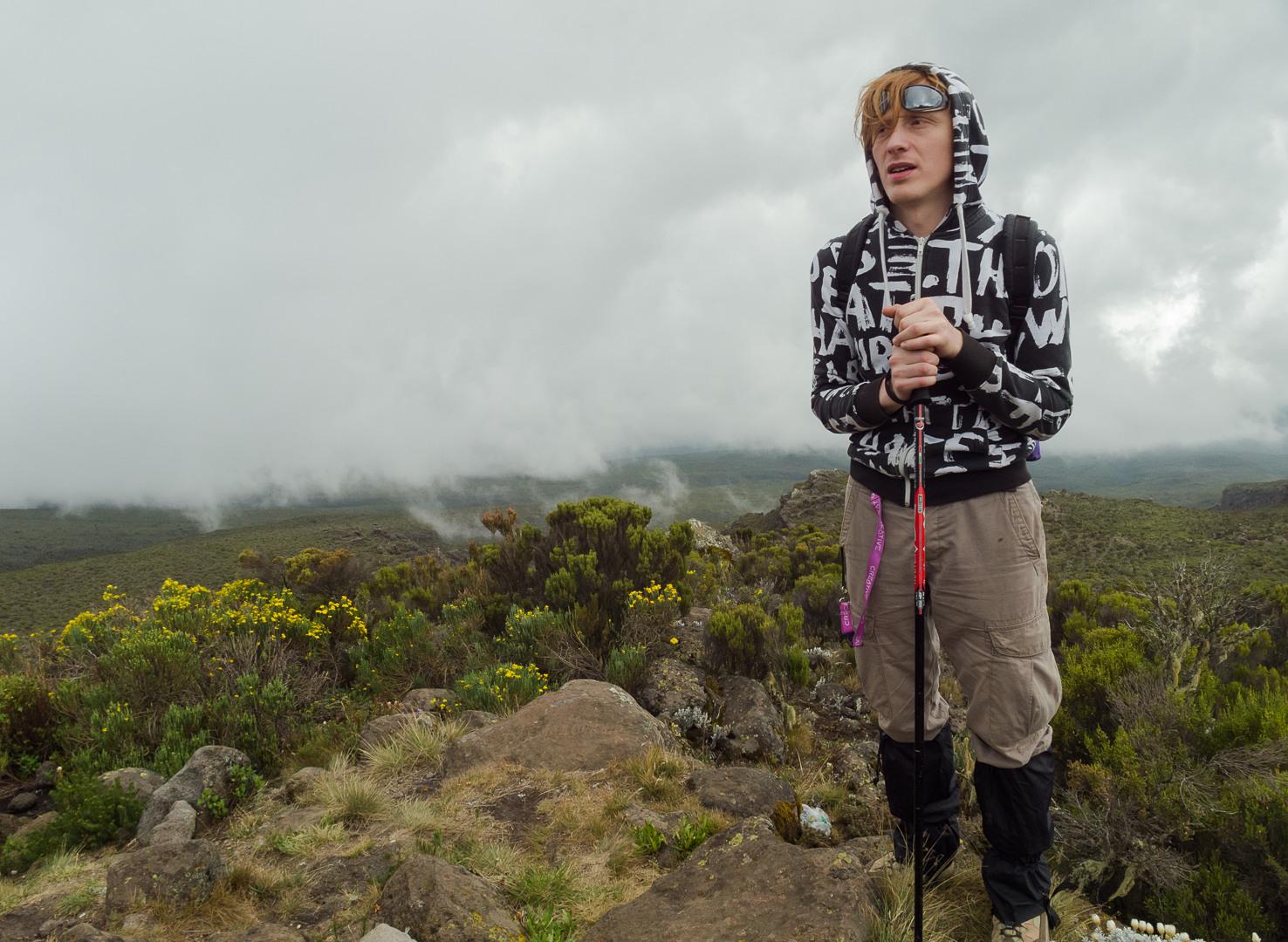 Вася на пути Марангу, Килиманжаро