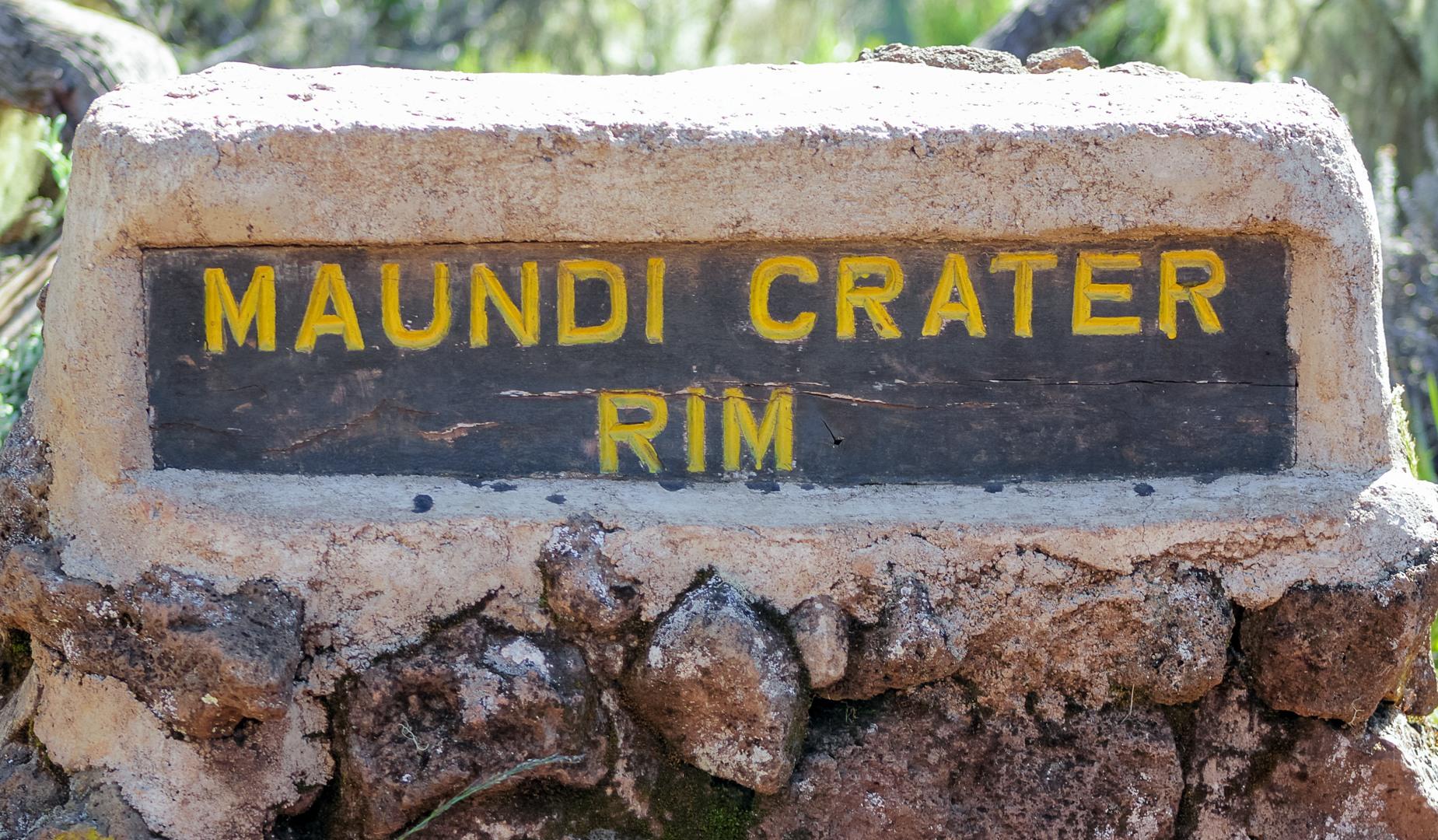 Маунди, Килиманжаро