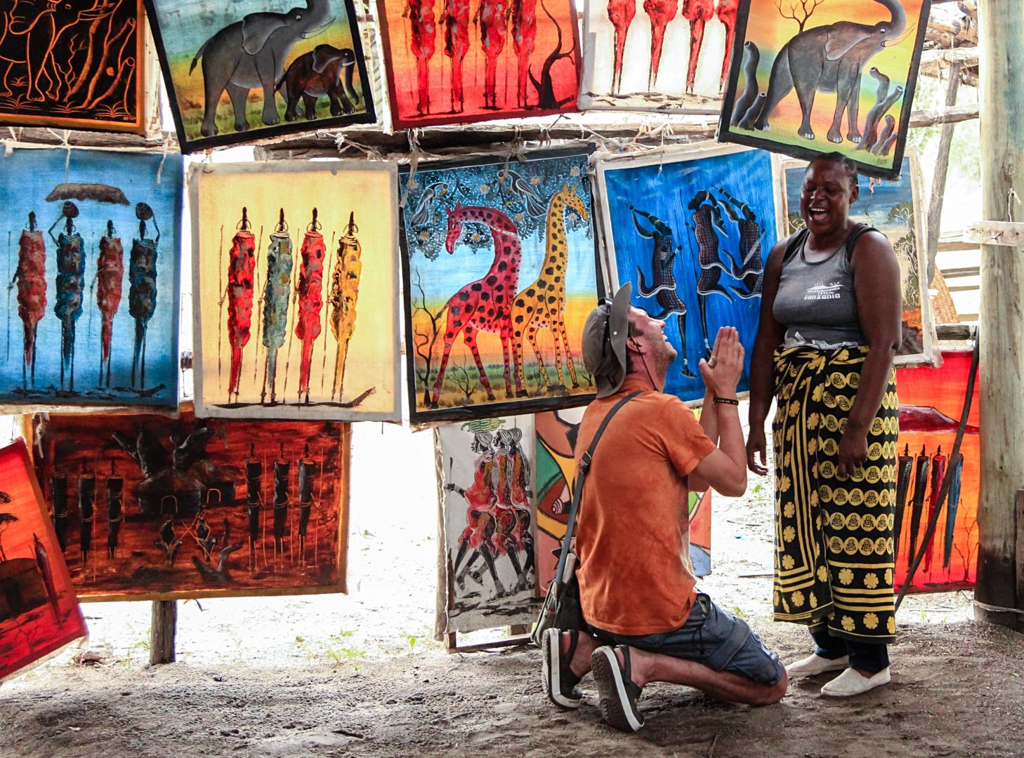 Покупка картин, Тарангире