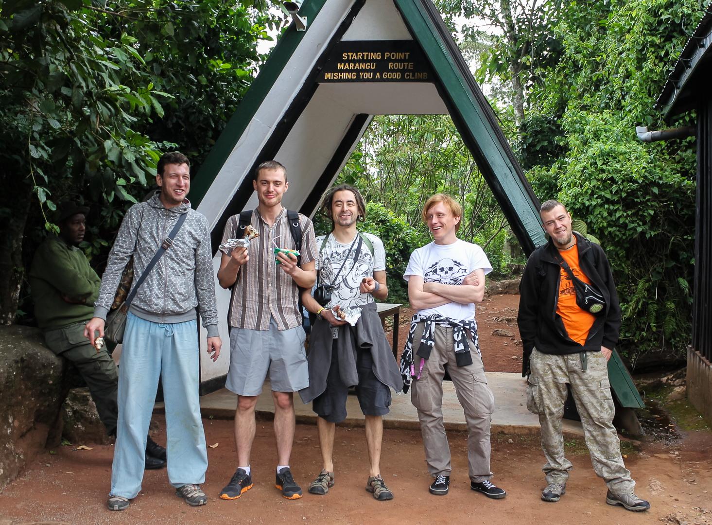 Ворота Марангу, Килиманжаро