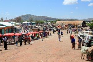 Рынок в Танзании