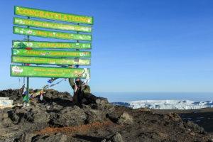 Пик Ухуру, Килиманджаро