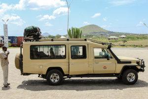 Джип для сафари, Нгоронгоро