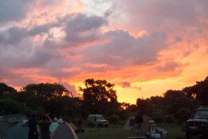 Закат, Нгоронгоро, Танзания