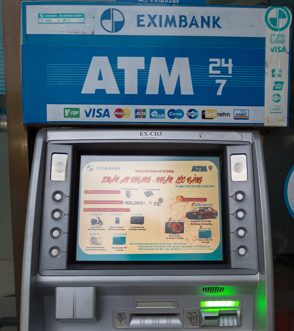 Бакномат Eximbank, Халонг