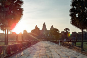 Главная аллея, Ангкор