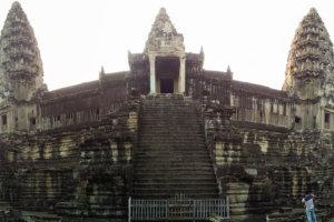 Лестницы Ангкора