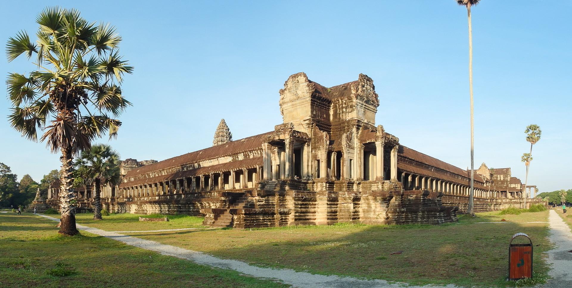 Галереи, Ангкор