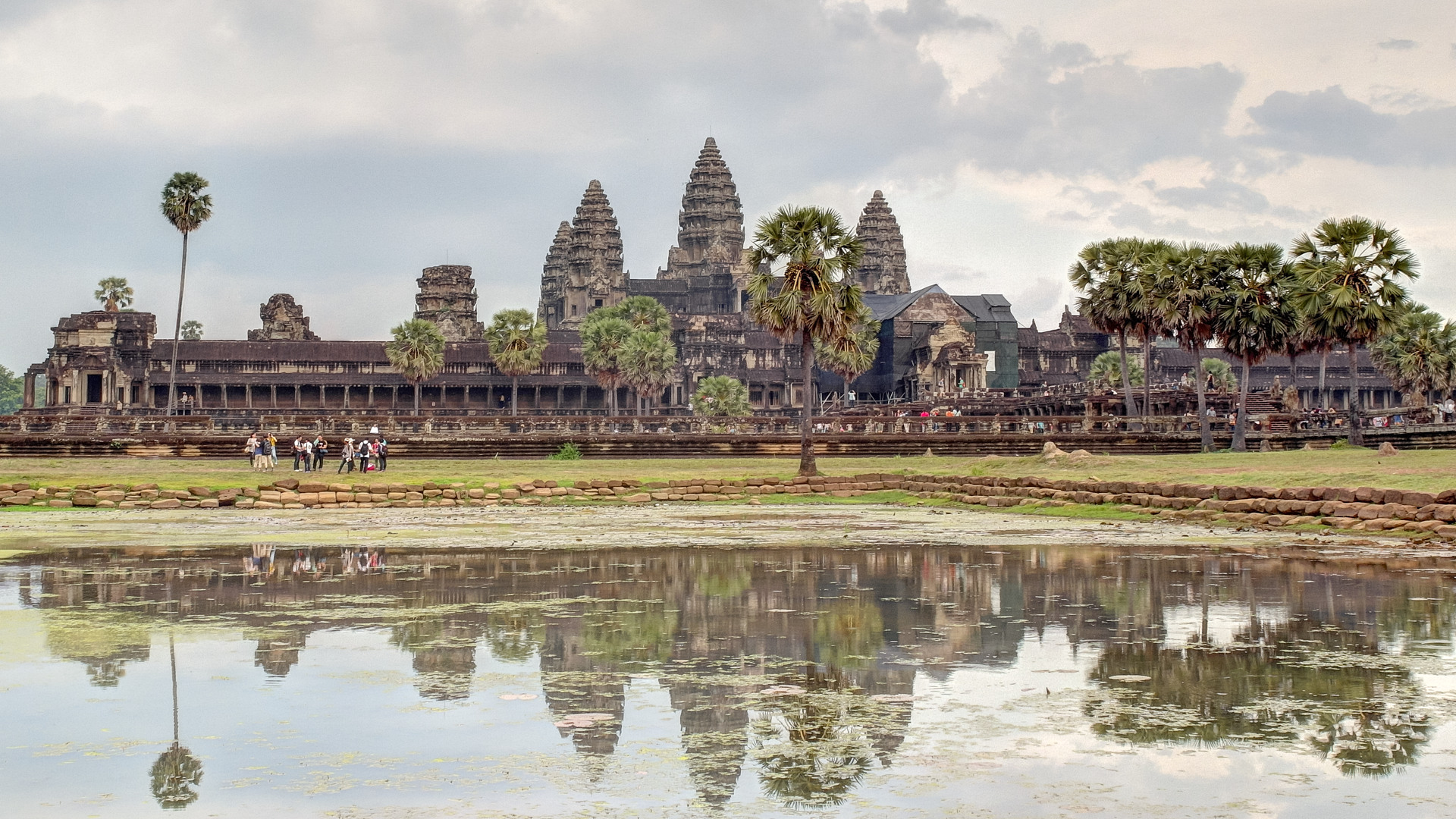 Лотосовый пруд (Lotus Pond), Ангкор Ват