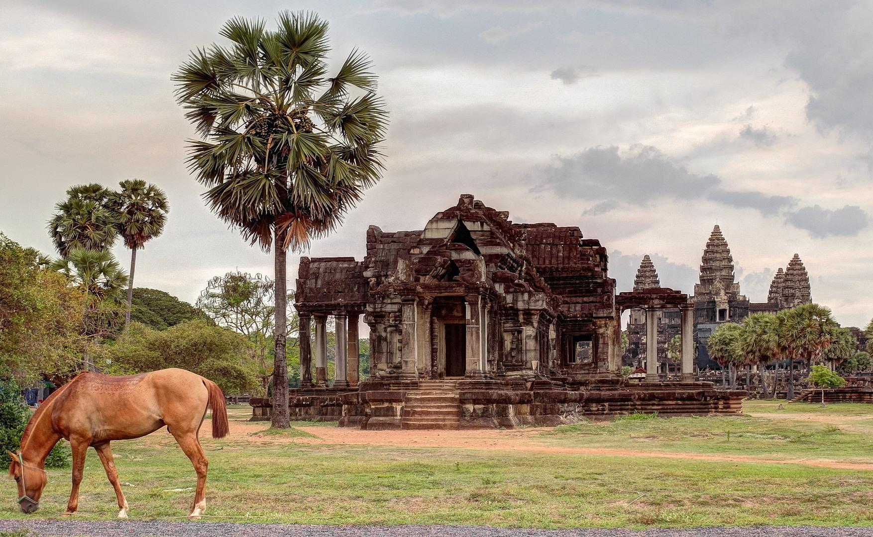 Библиотека, Ангкор Ват