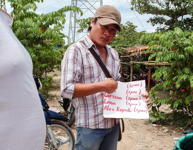 Камбоджийская граница, Хатьен