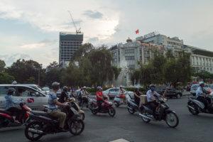 Дорожный трафик Сайгона