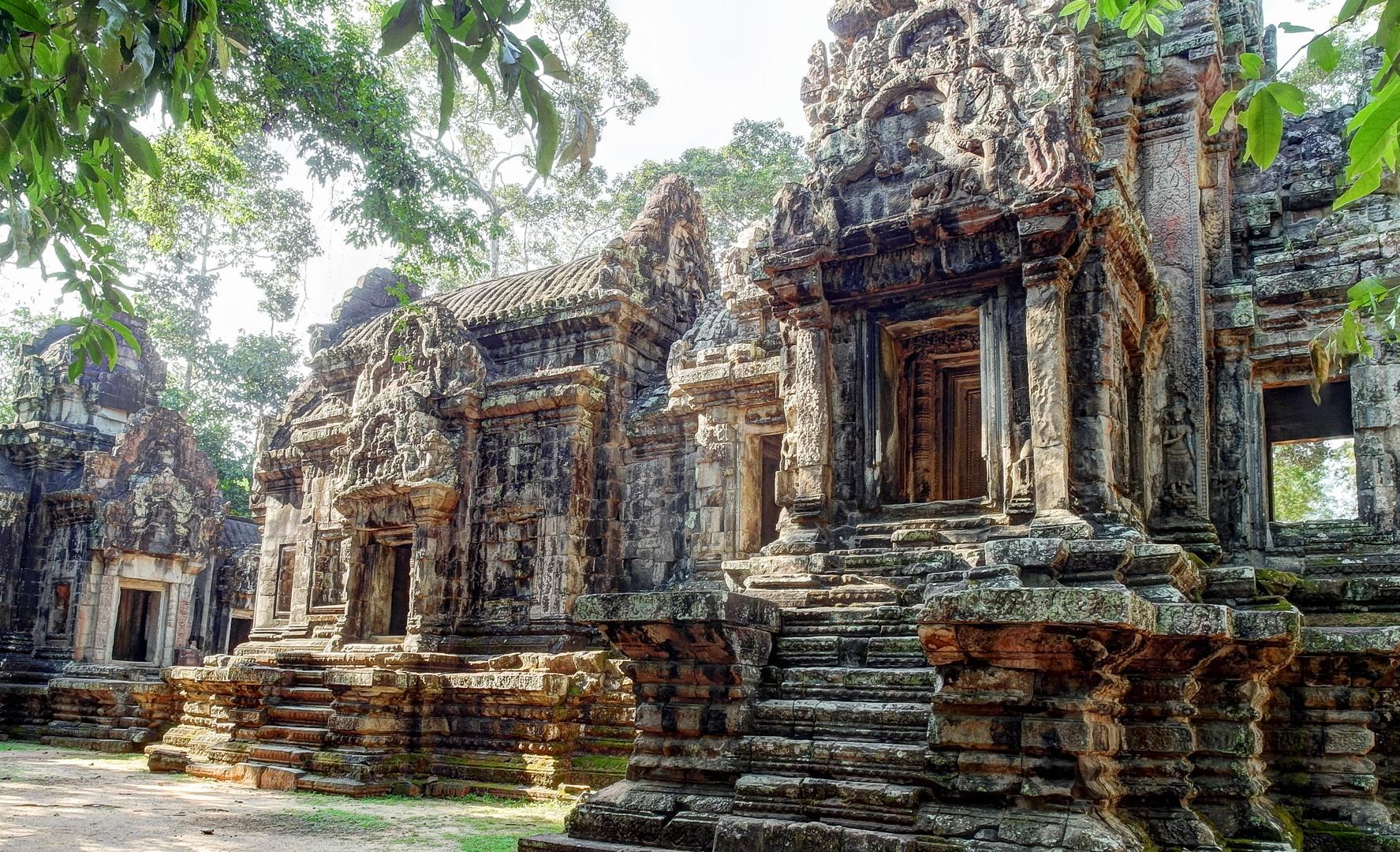 Храм Чау Сей Тевода (Chau Say Tevoda Temple), Ангкор