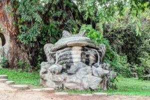 Каменная Жаба в парке