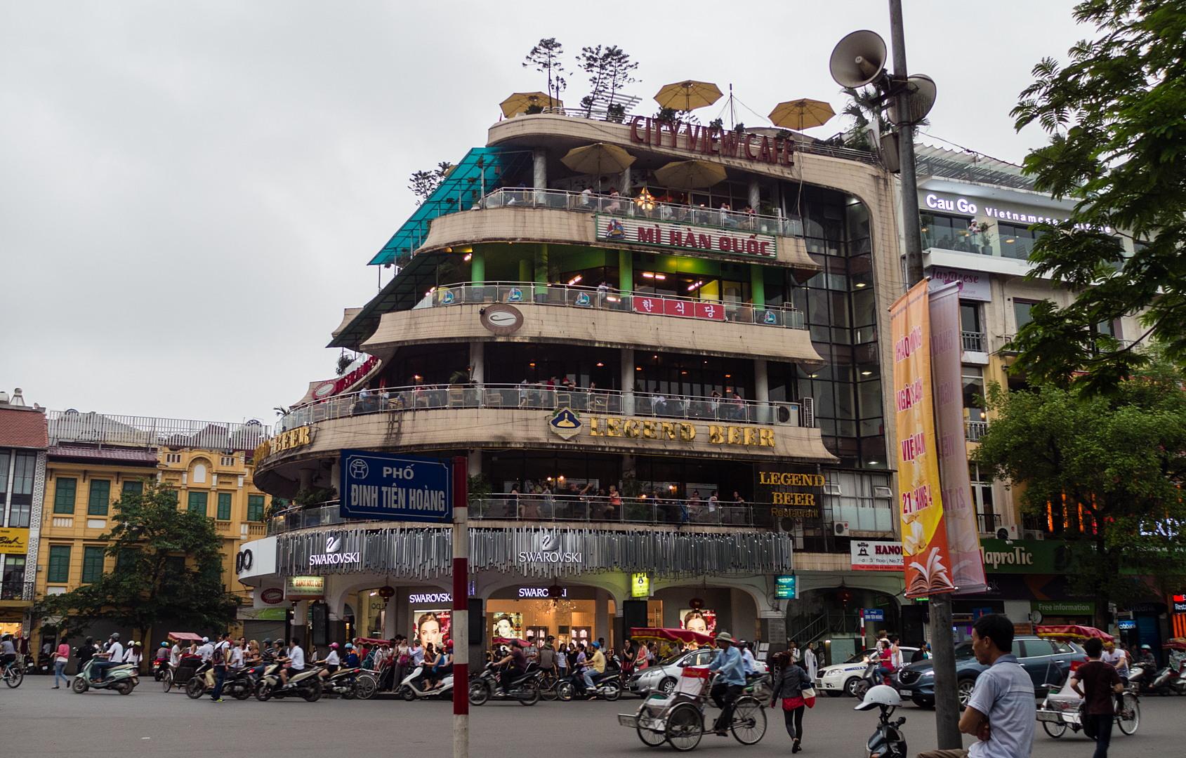City view cafe, Ханой