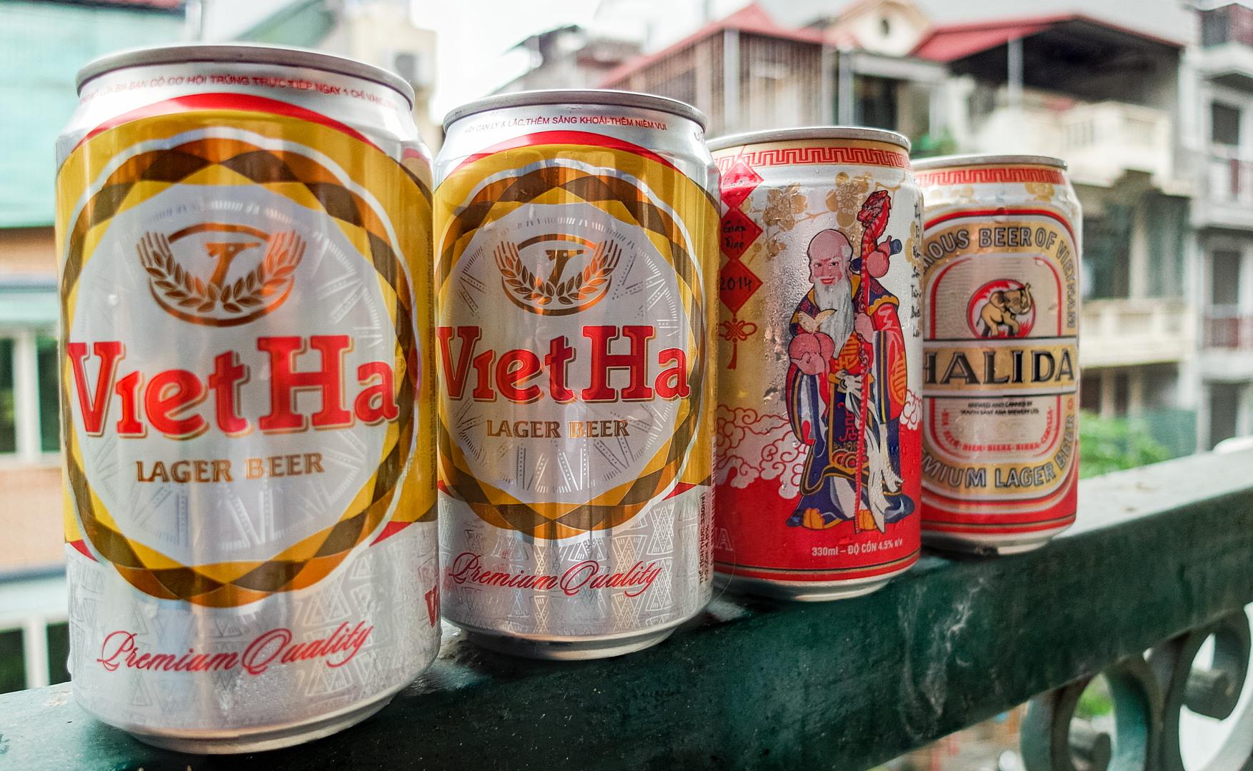 Пиво вьетнамское, Ханой