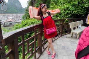 Китайская женщина, бухта Хлонг