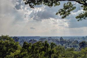 вид с холма над Ангкором
