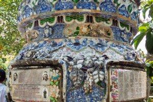 Памятник, дельта Mеконга, не далеко от Хошимина