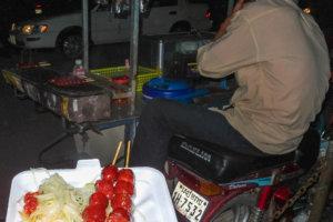 cвинные шарики (pork balls), Сиемреап (Siem Reap)