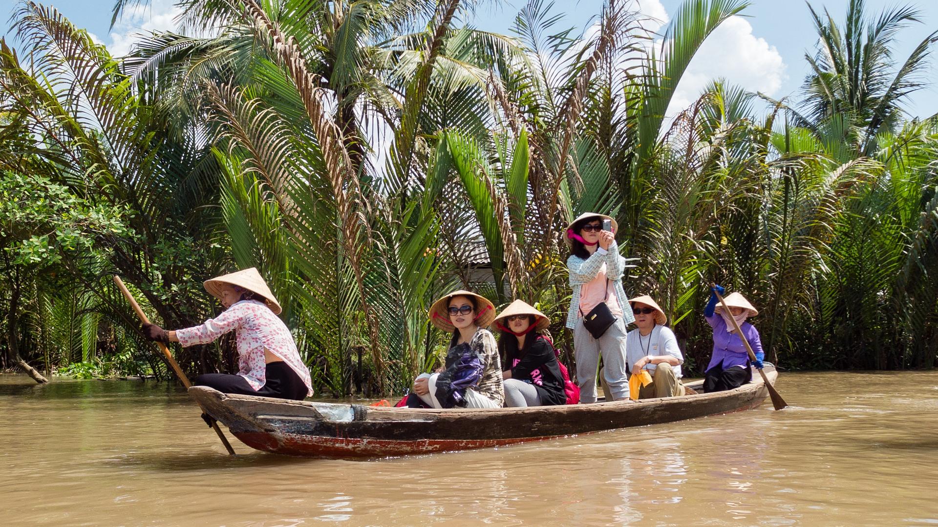 Туристы, Меконг
