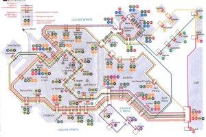 карта проезда по Венеции