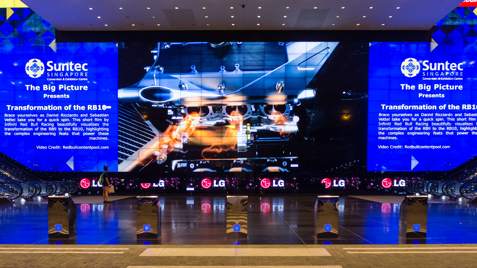 Торговый центр Suntec City Mall, Сингапур