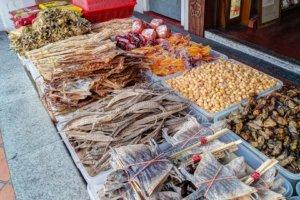 Сушеные морепродукты, Сингапур