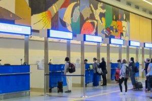 cтойки для оформления Tourist Visa On Arriva