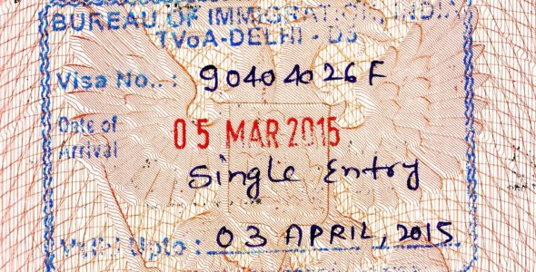 Оформление электронной визы в Индию