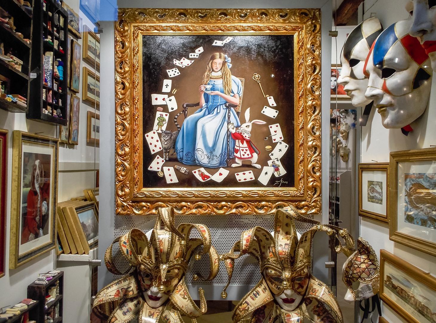 Алиса в стране чудес, Венеция, Италия