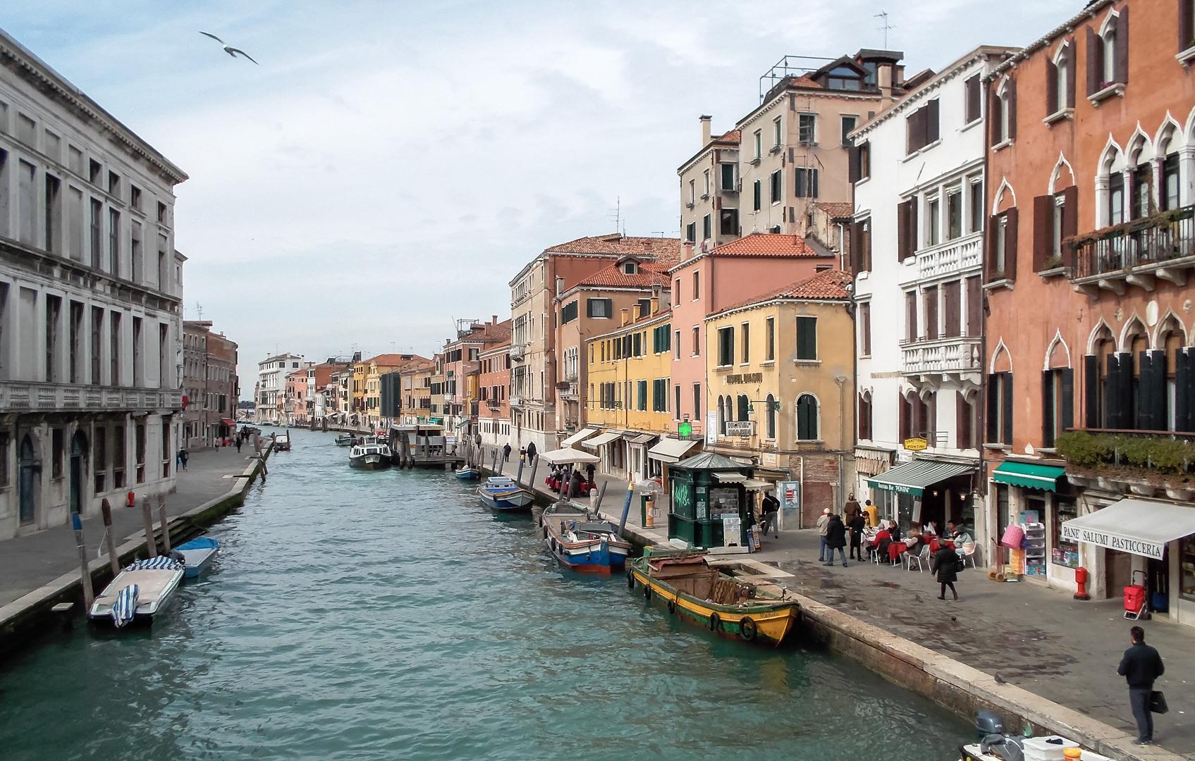 Каналы, Венеция, Италия